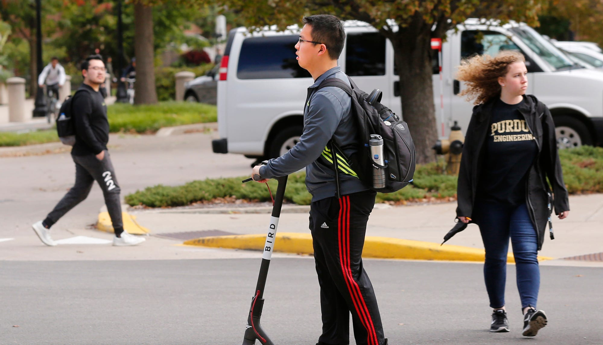 Purdue adds dozens of e-scooters on West Lafayette campus, this time for research