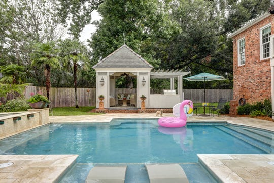 The gorgeous pool is perfect for outdoor fun and entertaining.