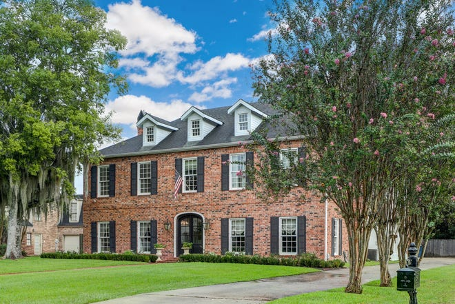 This 5 bedroom, 3 1/2 bath home is located at 412 Old Settlement Road in Lafayette. It is listed at $949,000.