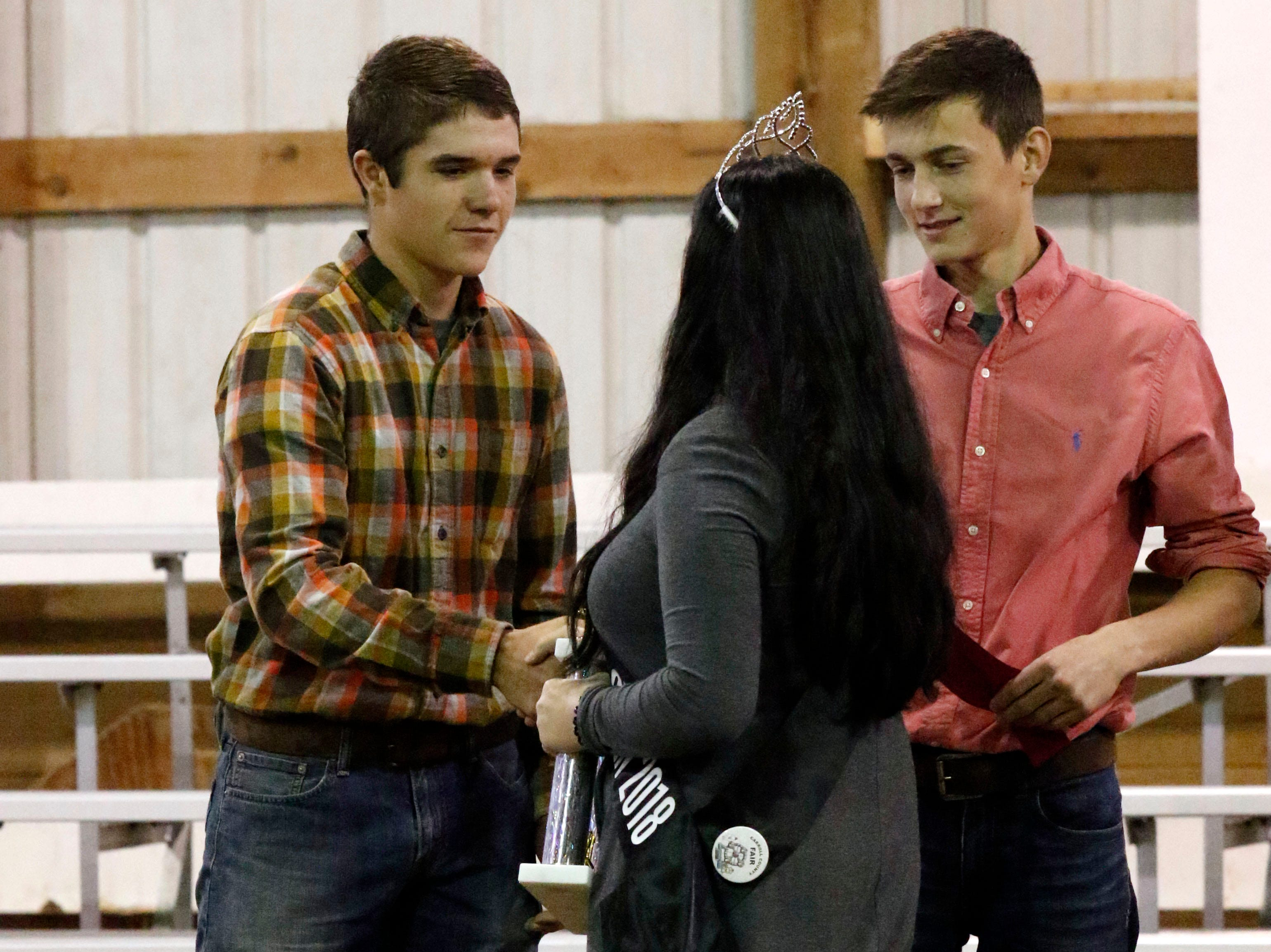 The super showmanship competition was held Thursday morning, Oct. 11, 2018, at Fairfield County Fair in Lancaster.