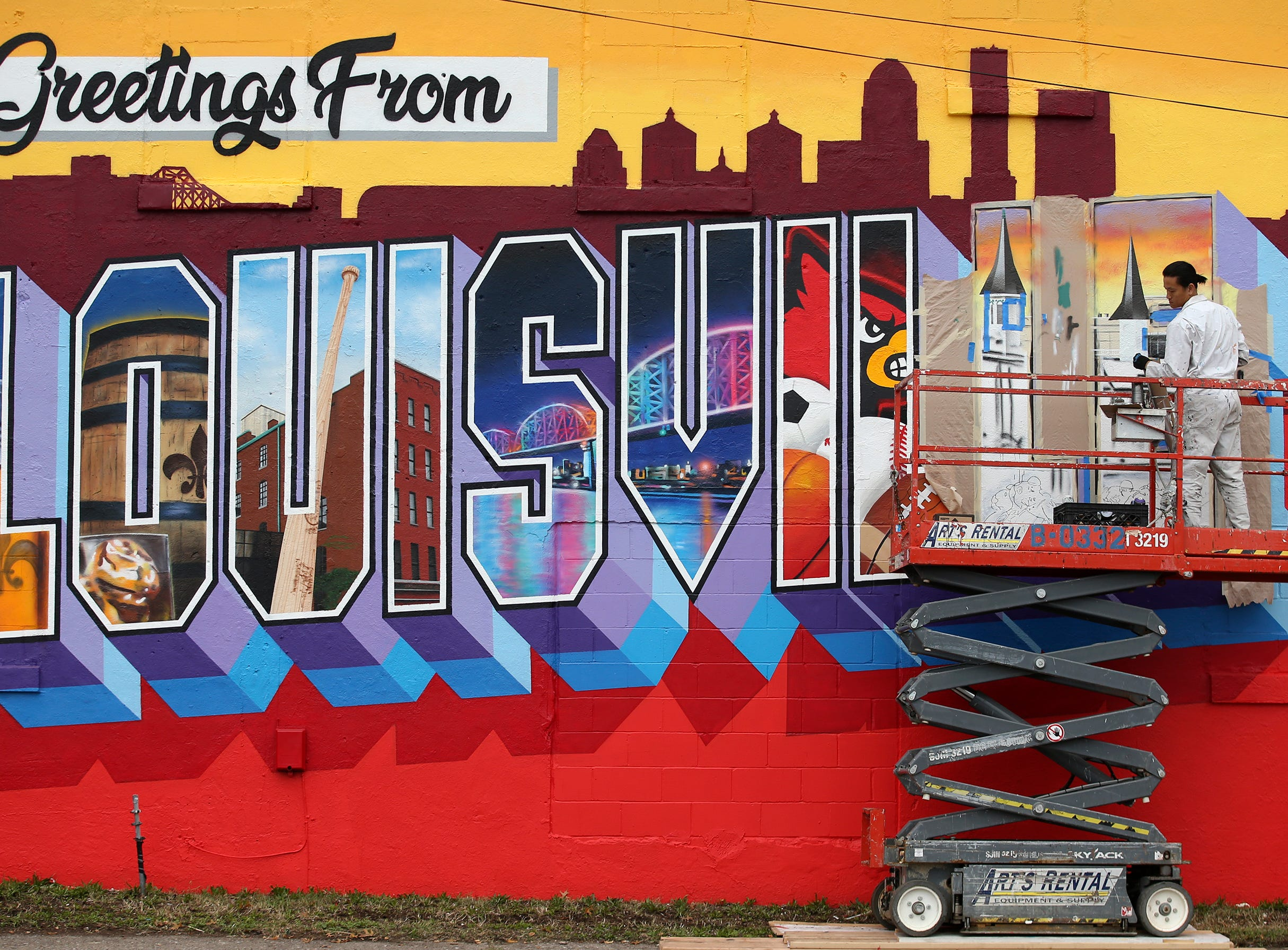 Louisville is full of dazzling murals. Check out our visual database.