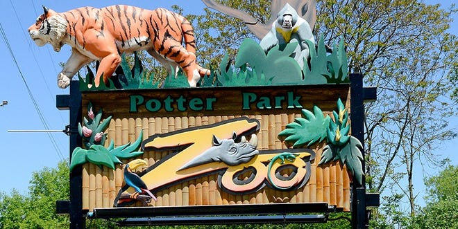 Potter Park Zoo will be closed to the public because of the COVID-19 pandemic beginning March 14.