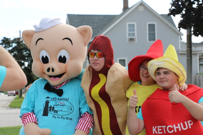 Fox's Piggly Wiggly held its 12th annual Pig to Pig Walk Sept. 8. Participants walked 6 miles along Lake Michigan from the Manitowoc Piggly Wiggly to the Two Rivers Piggly Wiggly. The event raised more than $16,000 for Lakesore CAP.