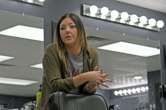Sarah Leonhardt of Barberz Inc. talks about plans for the Mansfield Barber Expo on Nov. 18.