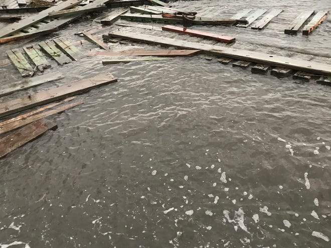 The Florida Panhandle saw significant flooding after Hurricane Michael.