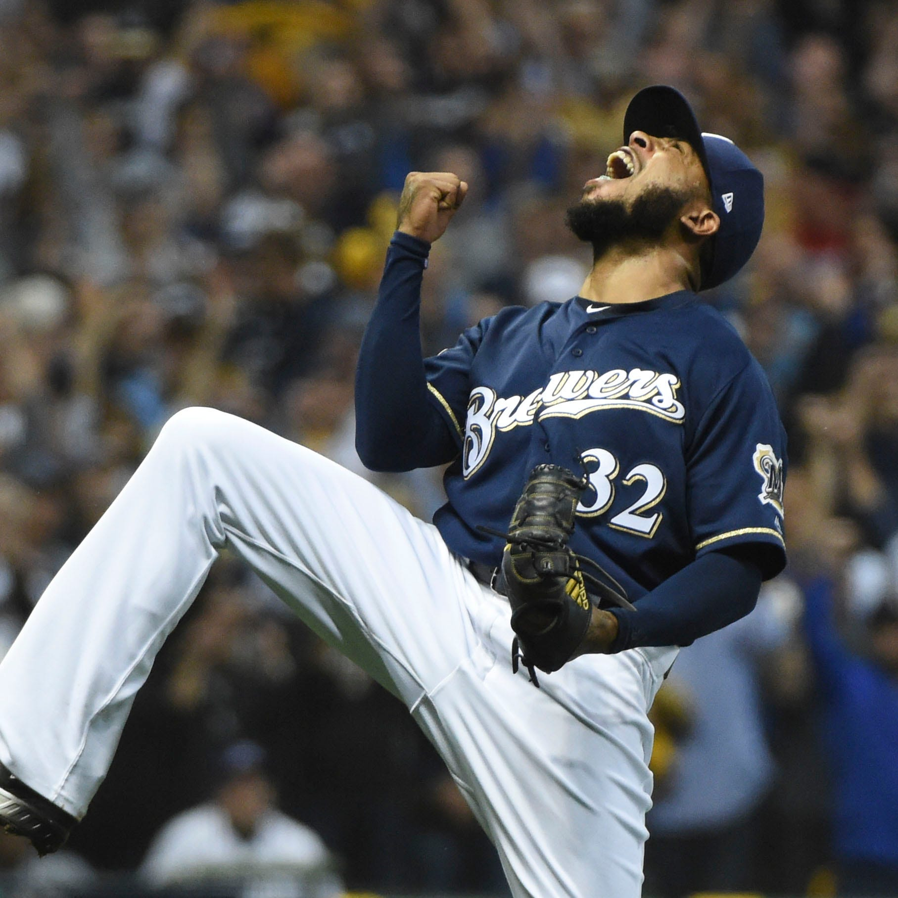 Jeremy Jeffress is pumped. He'll come off the injured list Tuesday eager to pitch.