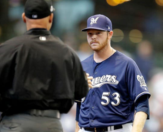Brandon Woodruff, who went up and down between Class AAA Colorado Springs this season, played a huge roll in the Brewers' surge in September, going 1-0 with a 0.73 ERA in seven outings.