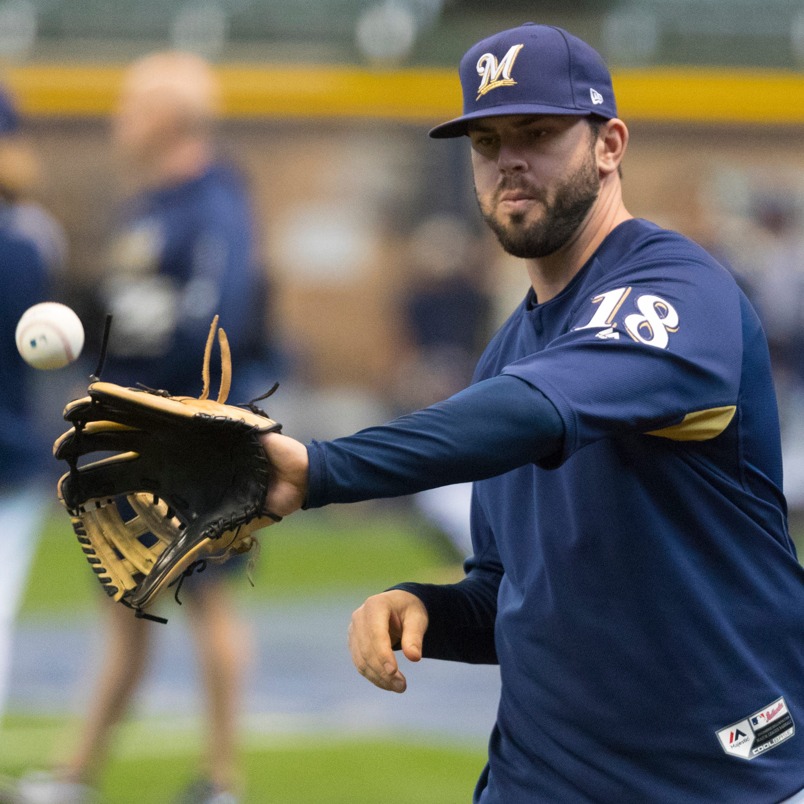 Second base: Return of Mike Moustakas once again means changes at two infield positions