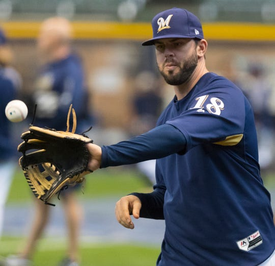 Mike Moustakas is returning to the Milwaukee Brewers this season after the two sides reached agreement on a one-year deal, with a mutual option for 2020. With Moustakas back in the fold, the picture at second and third base changes for the Brewers.