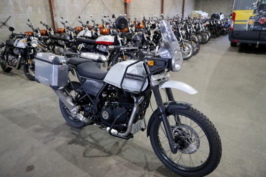 The Royal Enfield Himalayan.
