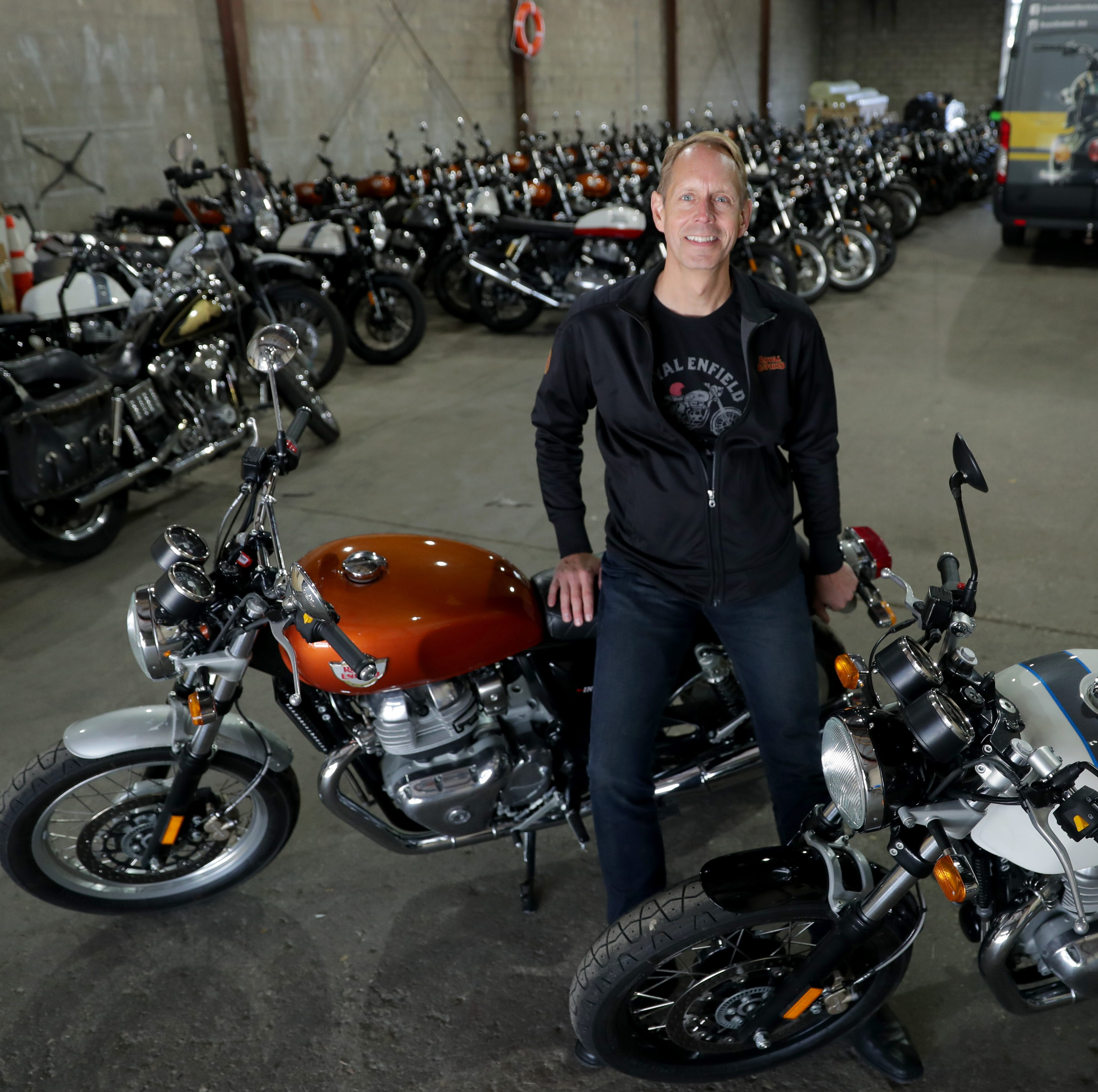 Royal Enfield, the 'other' Milwaukee motorcycle company, finding its way in the U.S.