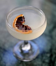 The Coquette cocktail, named for Fauntleroy's predecessor, is vodka, elderflower and grapefruit liqueurs, and lemon.