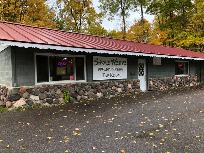 Some Nerve Brewing Co., is a place to quench a thirst when traveling Wisconsin's Northwoods.