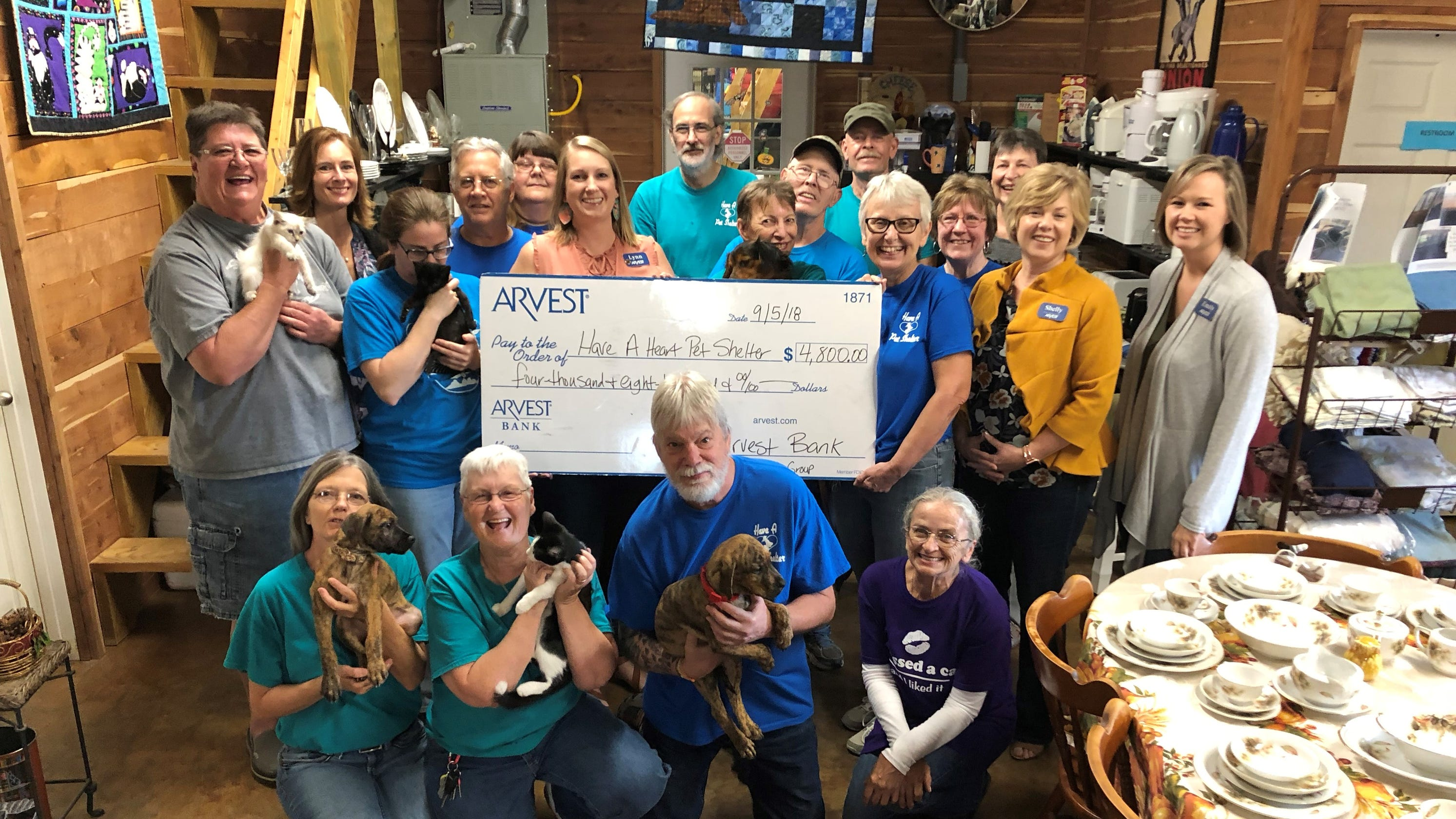 Arvest Bank, Ultimate Auto Group donate to three area nonprofits
