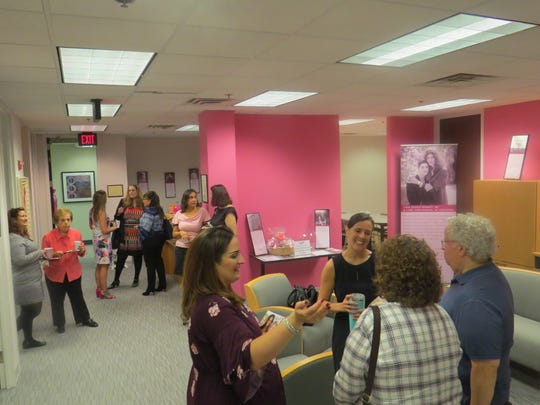 Open house for the new Susan E. Komen North Jersey headquarters in Parsippany.  Oct. 11, 2018