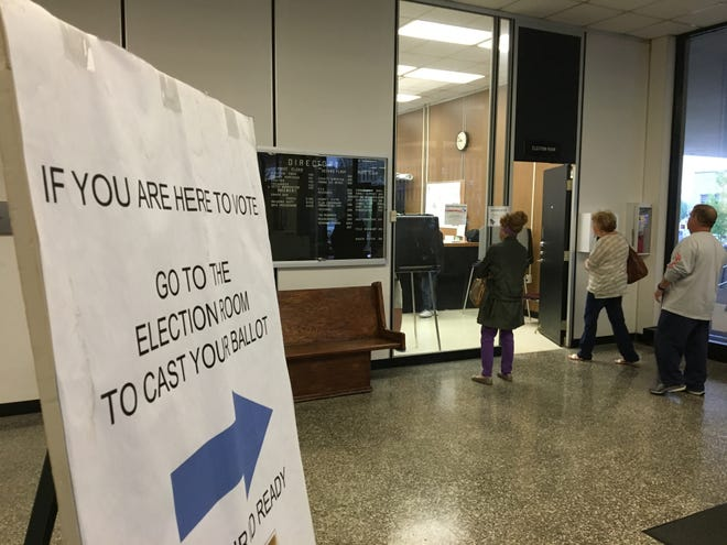Early voting in Delaware County