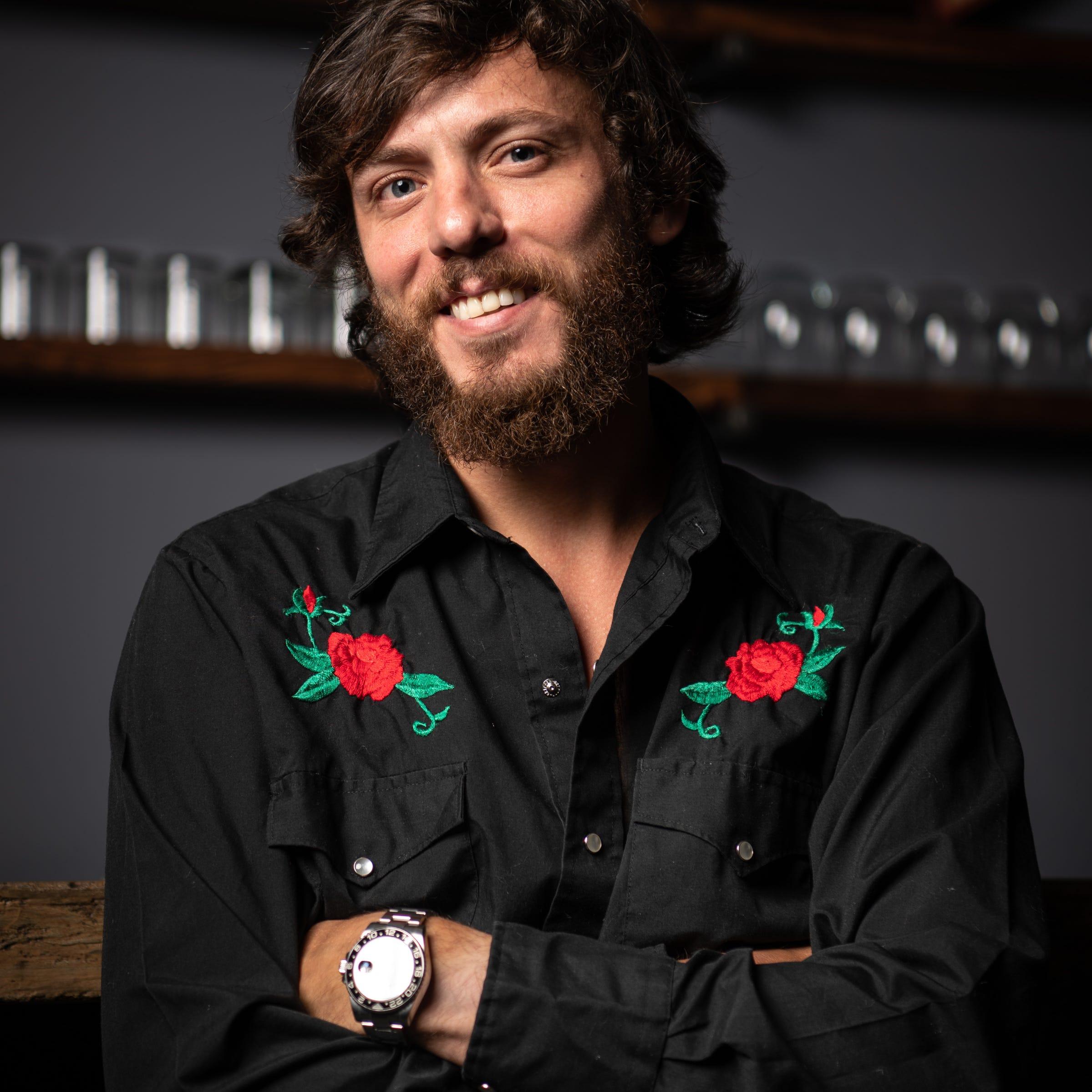 Chris Janson at Warner Music Nashville in...