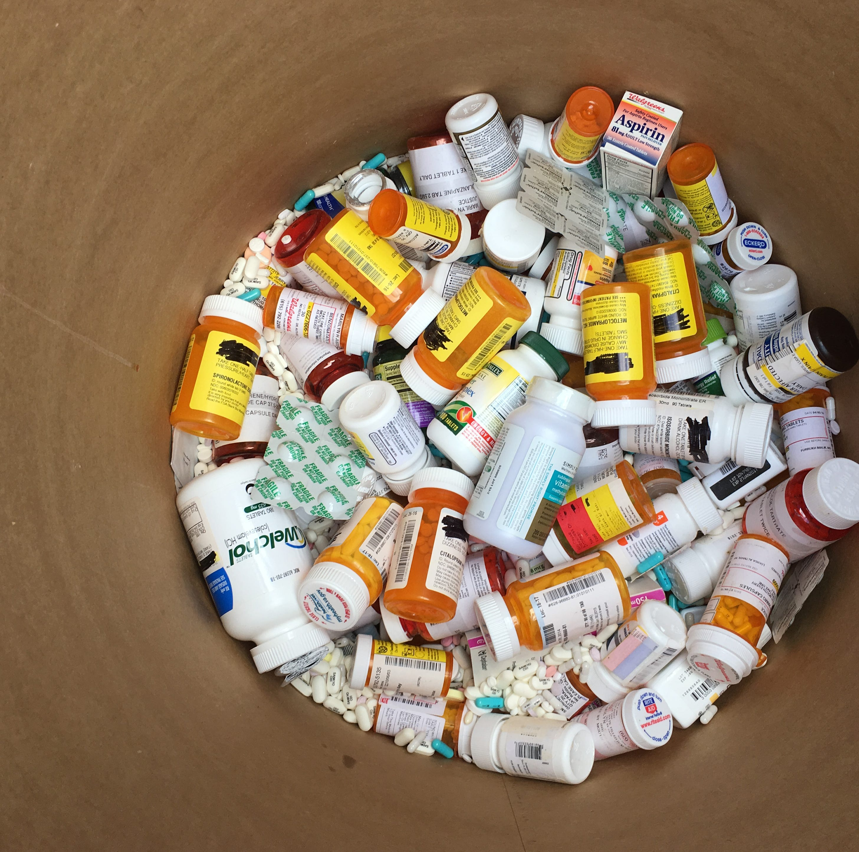 Area drop-off sites for Drug Take Back Day