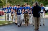 Scenes from Lucas Davis' funeral