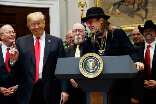Donald Trump Kid Rock