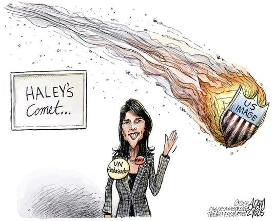 Haley Cartoon