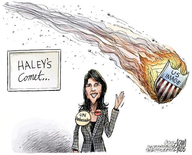 Nikki Haley: October 10, 2018