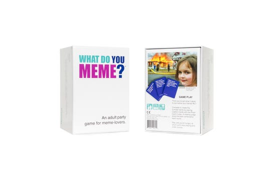 What Do You Meme? adult party game for meme-lovers.