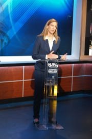 Mikie Sherrill CD-11 NJTV Debate at the Agnes Varis NJTV Studio in Newark, NJ on October 10, 2018