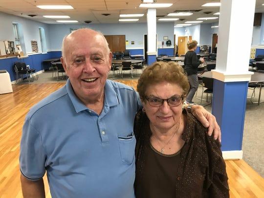 Longtime Senior Center members, Nick and Cathy Martino.