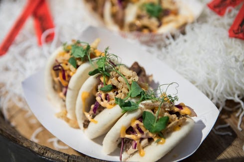 Bao buns available at Prudential Center.