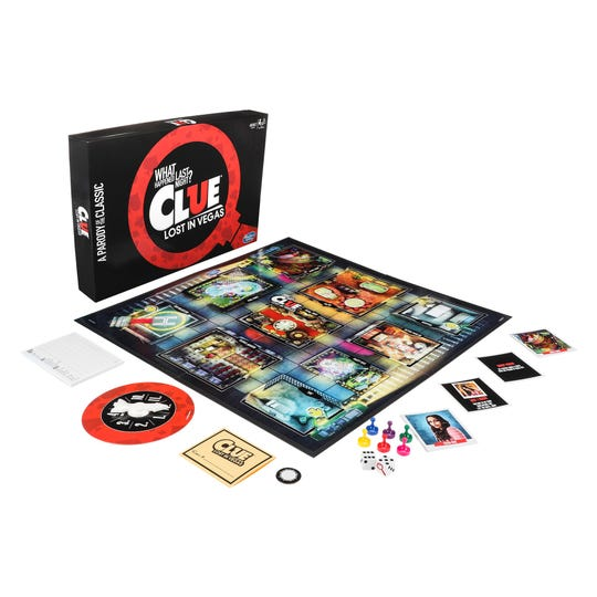 In Clue: What Happened Last Night? Lost in Vegas, six friends try to figure out what happened to their missing friend, Buddy.