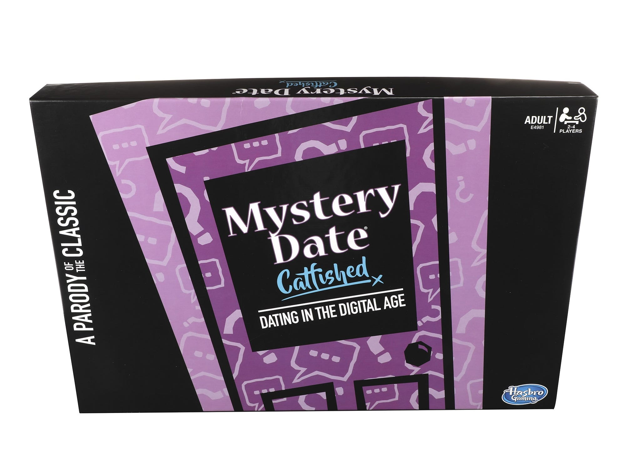 In Mystery Date: Catfished, players pick, swap and collect hilarious Trait and Action cards, and wade through a sea of weirdos as they search for love in the world of online dating.