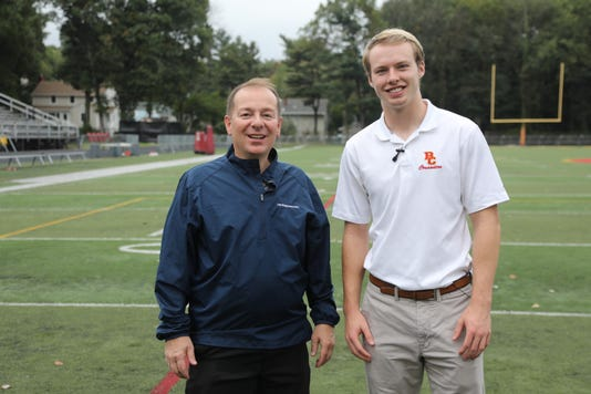 Greg Mattura Talks Goes 100 Yards With Griffin Mcgovern Bergen Catholic Safety