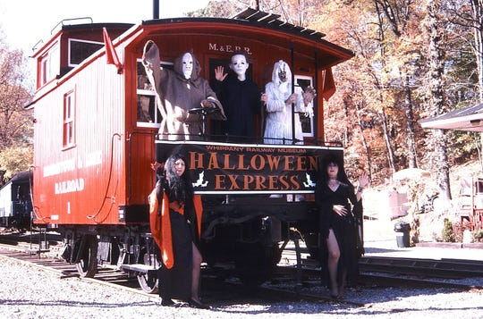 Halloween Express train rides are coming to Whippany Railway Museum on Oct. 21.