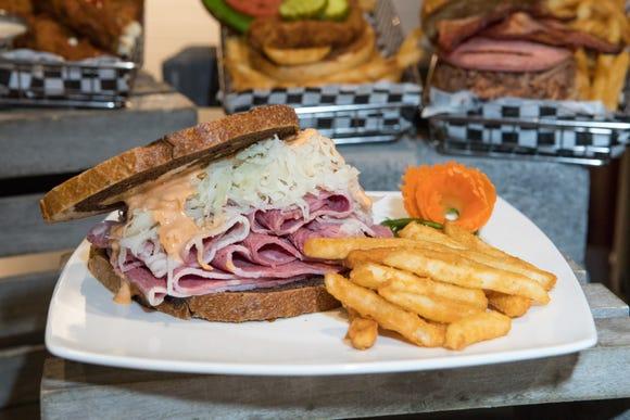 Fan-inspired sandwich available in bunker suites
