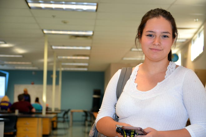 Leslie Williams, 18, is a senior at Western New Mexico University who did not have the support of the new Early College High School in Deming. Her grit and determination have made her a role model for students now attending the school that opened this year.