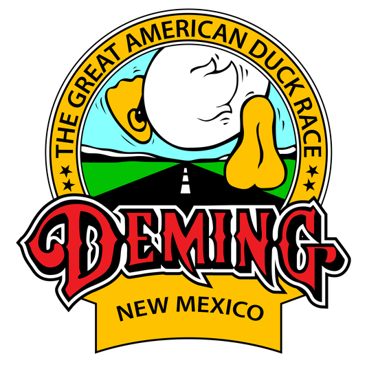 Deming Duck Race Duck Butt Logo
