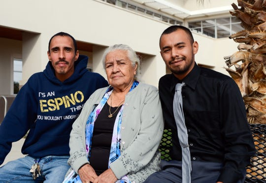 Cesar, Maria, and Oscar Espino, after the Doña Ana Planning and Zoning Commission reversed an earlier decision and allowed them to erect a mobile home on a parcel in Chaparral.