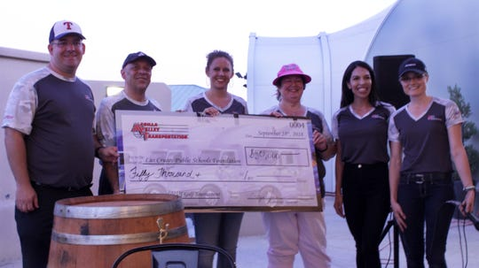 Mesilla Valley Transportation raised $50,000 for the Las Cruces Public Schools Foundation.
