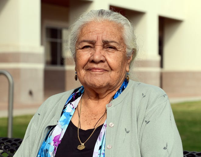 Maria Espino, 82, of Chaparral, will be permitted to move her mobile home to a lot in Chaparral owned by her grandson after the Doña Ana County Planning and Zoning Commission reversed an earlier decision.