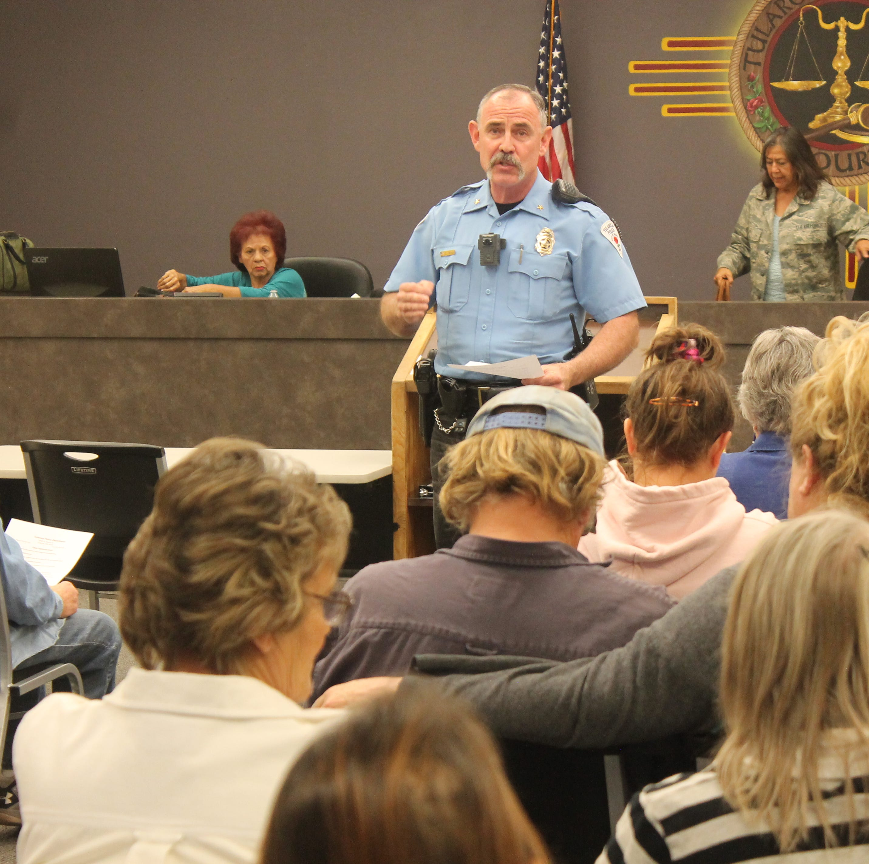 Tularosa police and residents discuss rise in crime in community