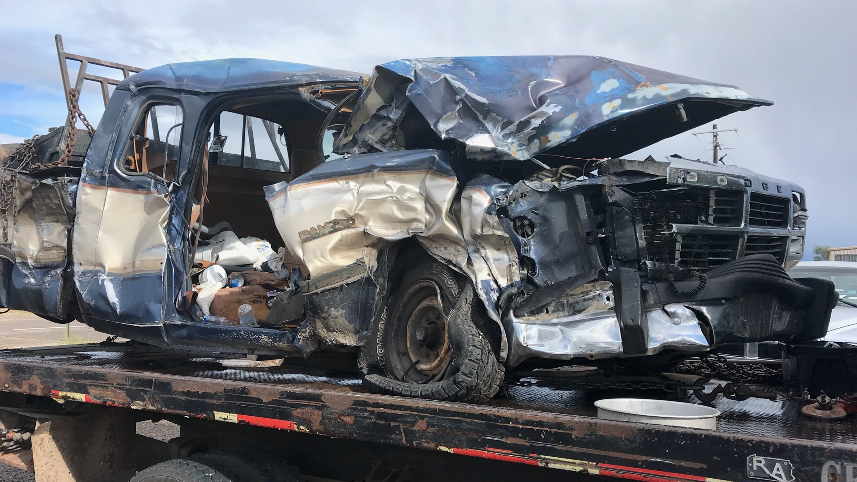Fatal accident on U S  54 closes the highway south of