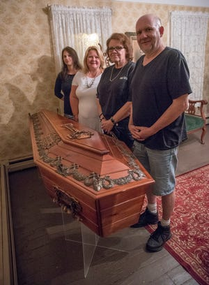 Ghost Hunters Judy Harbert, Kelly Hamilton, Sarah Rupert, and Rodney Pedrys can show you how to search for spirits, too.
