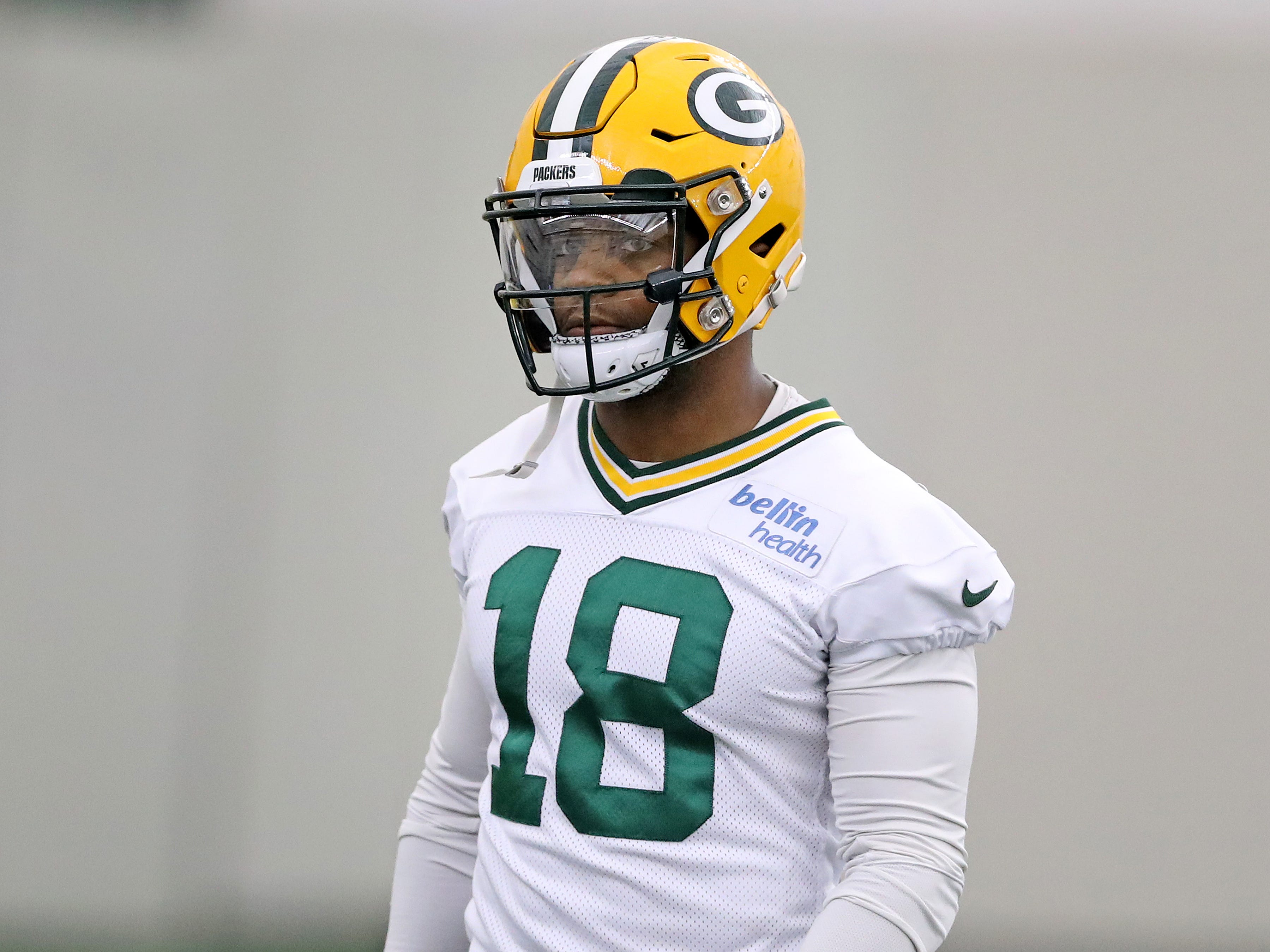 Green Bay Packers wide receiver Randall Cobb (18) during practice inside the Hutson Center Thursday, October 11, 2018 in Ashwaubenon, Wis.