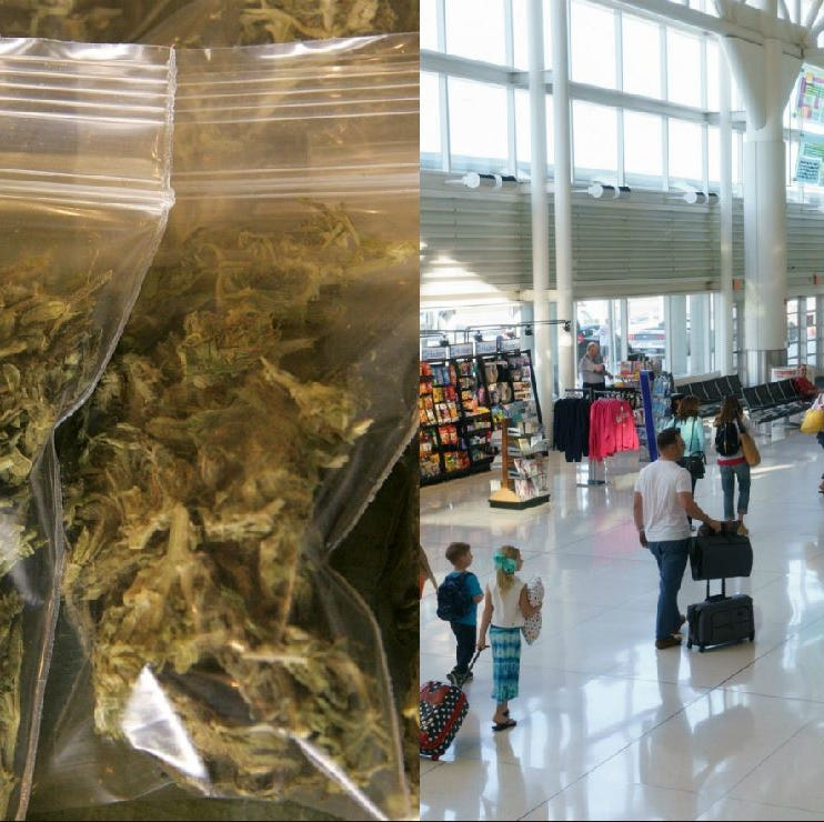 You may soon be able to bring weed to Palm Springs airport, but will it fly?