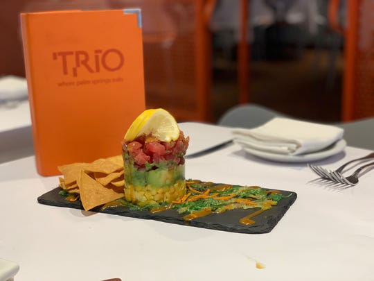 One of the many delicious Starters served at TRIO Restaurant