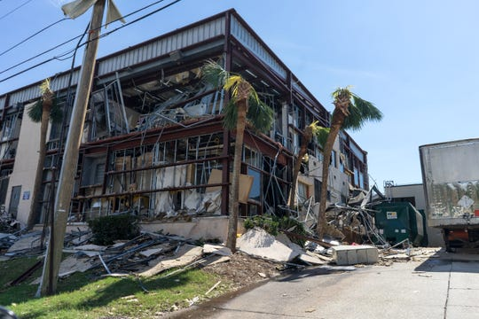 Bay Medical Center Sacred Heart began evacuating approximately 200 patients Thursday morning after the hospital sustained roof, structural and water damage during Hurricane Michael.
