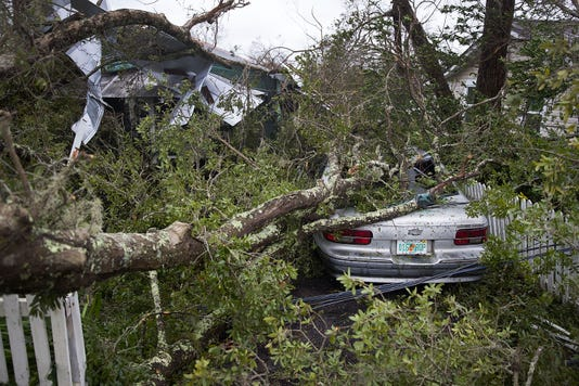 Hurricane Michael Aftermath See Dramatic Photos Of Panama City Damage - Panama city beach car show 2018