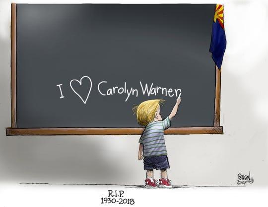 Cartoon for Oct. 11, 2018.