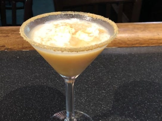 Padre Murphy's | Raise a glass to fall with the smashing pumpkin martini ($6.50). Pumpkin puree and salted caramel syrup are shaken with vanilla vodka, Frangelico and ginger beer and served in a graham cracker-rimmed martini glass.  Details: 602-547-9406, padremurphy.com.